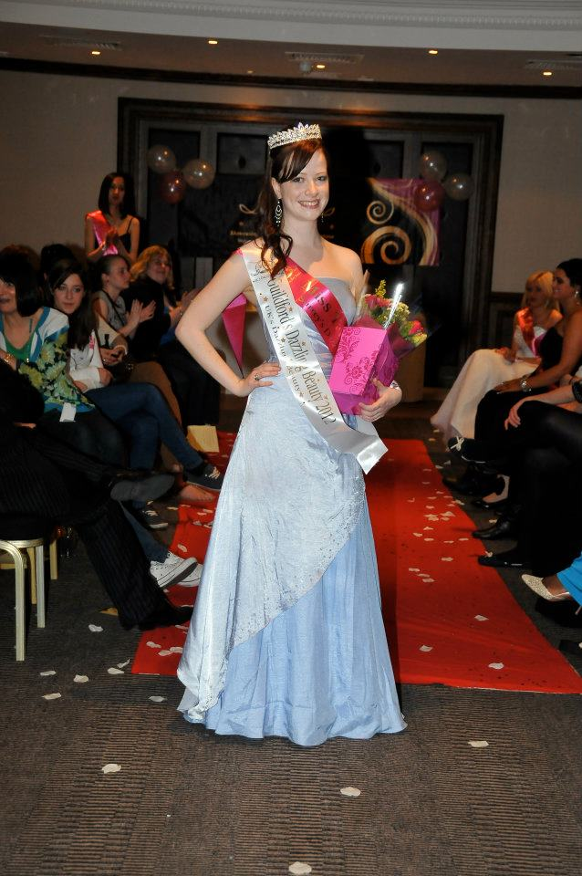 Louise crowned Guildfords Dazzling Beauty 2012