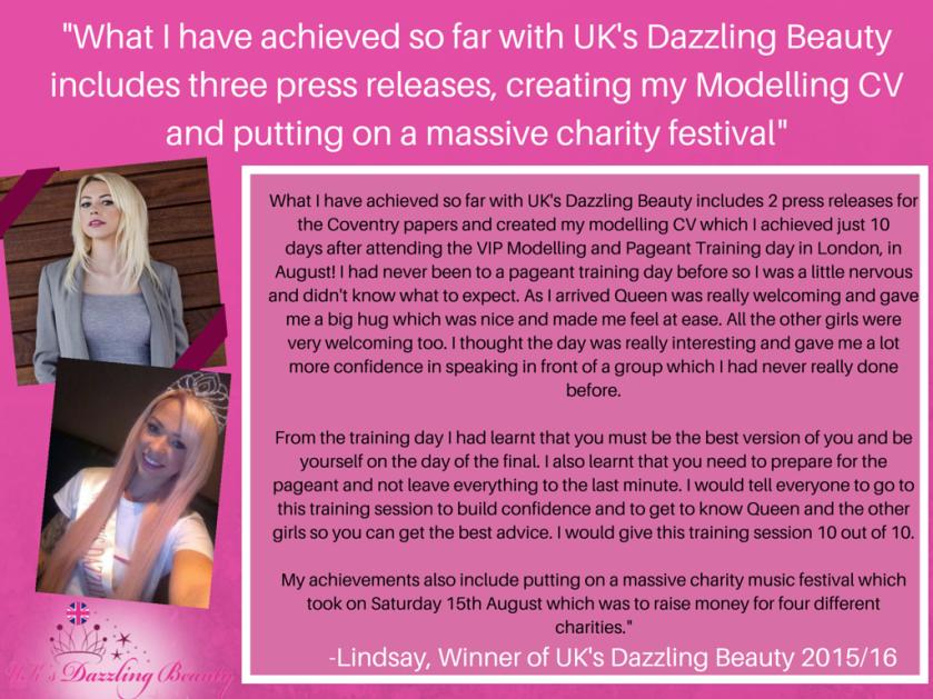 Testimonial Lindsay 2016